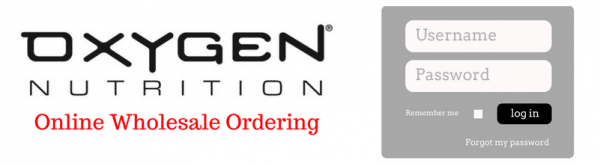 Oxygen Wholesale Ordering